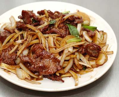 orionchineserestaurant_food_Mongolian Pork01